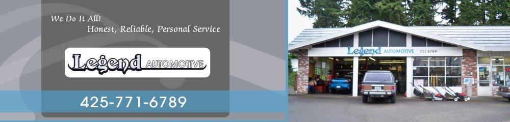 Auto Repair Shop - Mountlake Terrace, WA - Legend Automotive