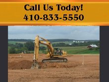 Excavating Services - Carroll County, MD - White Pine Construction Corp.