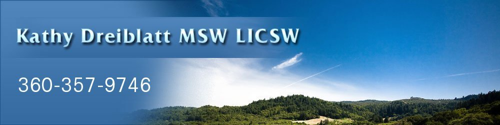 Counseling Olympia, WA - Kathy Dreiblatt MSW LICSW