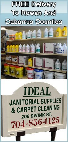 Janitorial Supplies - China Grove, NC - Ideal Janitorial Supplies & Carpet Cleaning