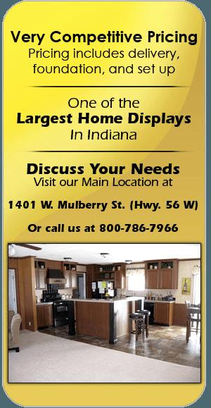 Home installation | Salem, IN | Baird Homes of Distinction Inc. | 800-786-7966