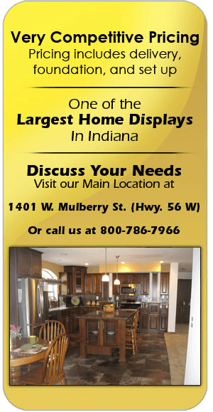 Modular homes | Salem, IN | Baird Homes of Distinction Inc. | 800-786-7966
