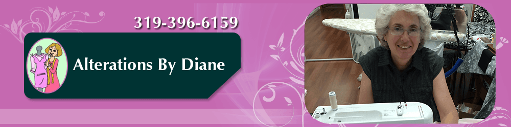 Clothing Alterations - Cedar Rapids, IA - Alterations By Diane