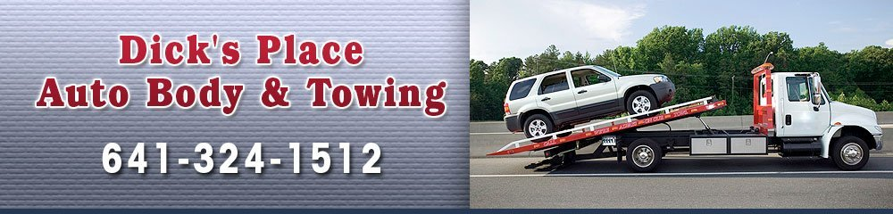 Auto Shop - Northwood, IA - Dick's Place Auto Body & Towing