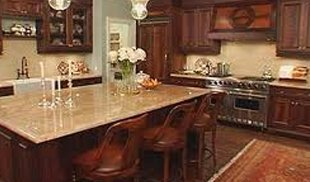 Remodeled classical vintage style kitchen