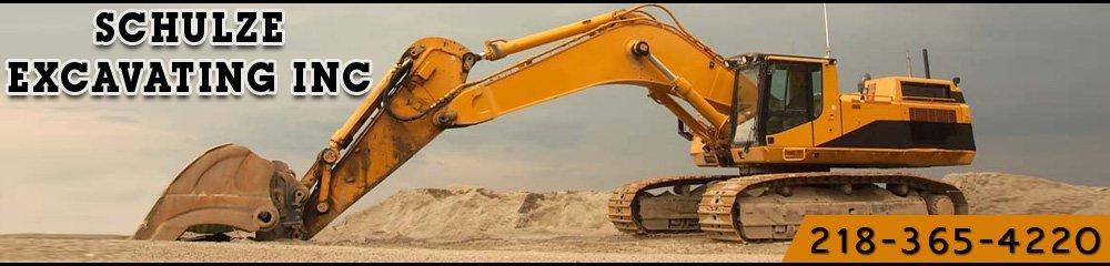 Excavating Contractor - Lake County, MN - Schulze Excavating Inc