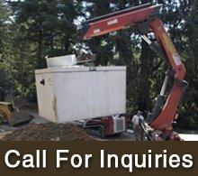 Septic Tank Repair  - Lake County, MN - Schulze Excavating Inc