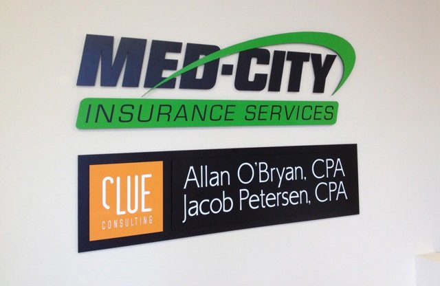 Business ID Signs