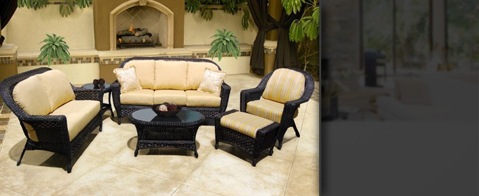 wicker furniture cushions | Crystal River, FL | Crystal Casual Incorporated | 352-795-2794