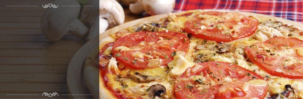 Italian pizza focus in