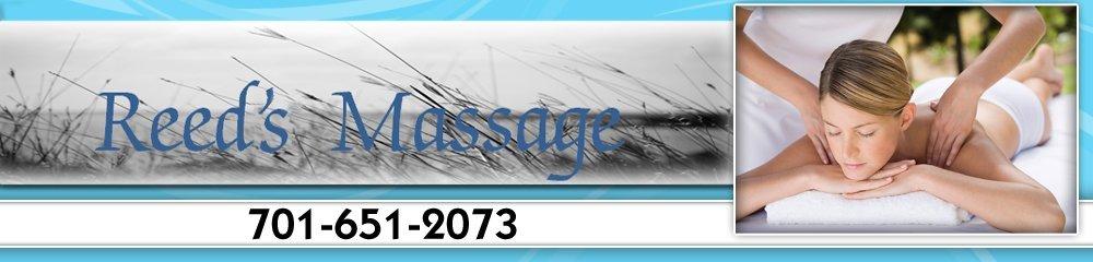 Massage - Williston, ND - Reeds Massage