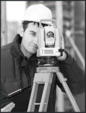 Man surveying ahead