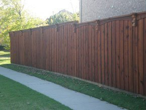 Cedar Fence Installation and Repair - Lake Dallas, TX - A Wolter Service