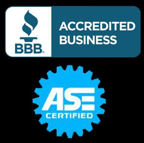 ASE Certified, Member of the Better Business Bureau (BBB) and Gateway Vehicle Inspection Program (GVIP)