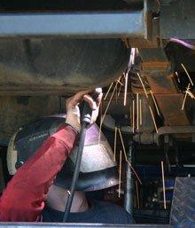 auto welding - Woodstock, IL - Bert's Welding Truck & Trailer Repair - Welding