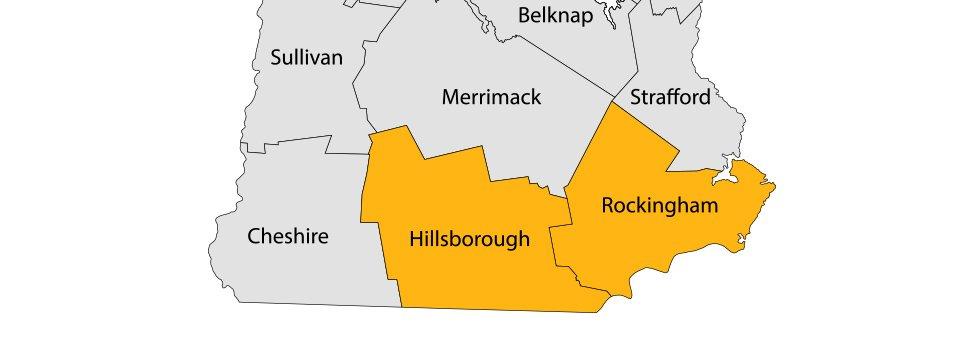Harry W. Wells & Son, Inc. Service area map