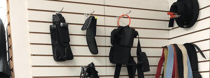 Diving straps