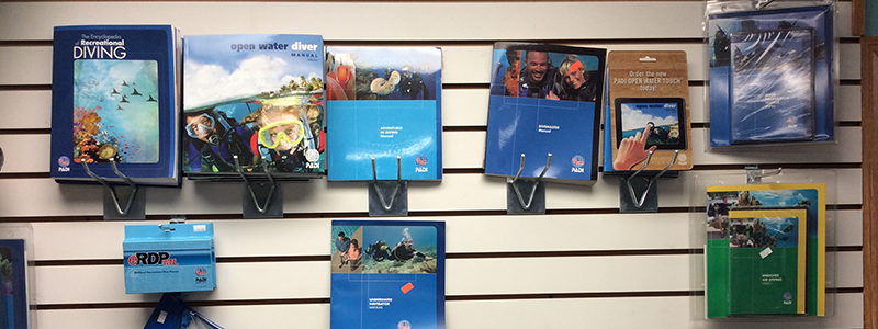 Diving learning books