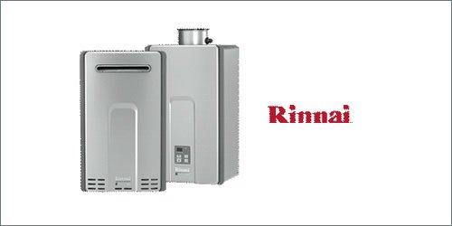 Rinnai Luxury Series Water Heaters