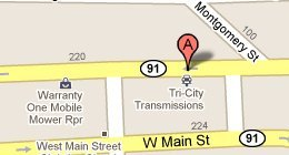Tri City Transmissions, Inc - 225 W Market St, Johnson City, TN 37604