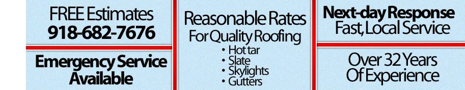 Roofing Contractor - Muskogee, OK - Gil Miller Roofing Company, Inc.