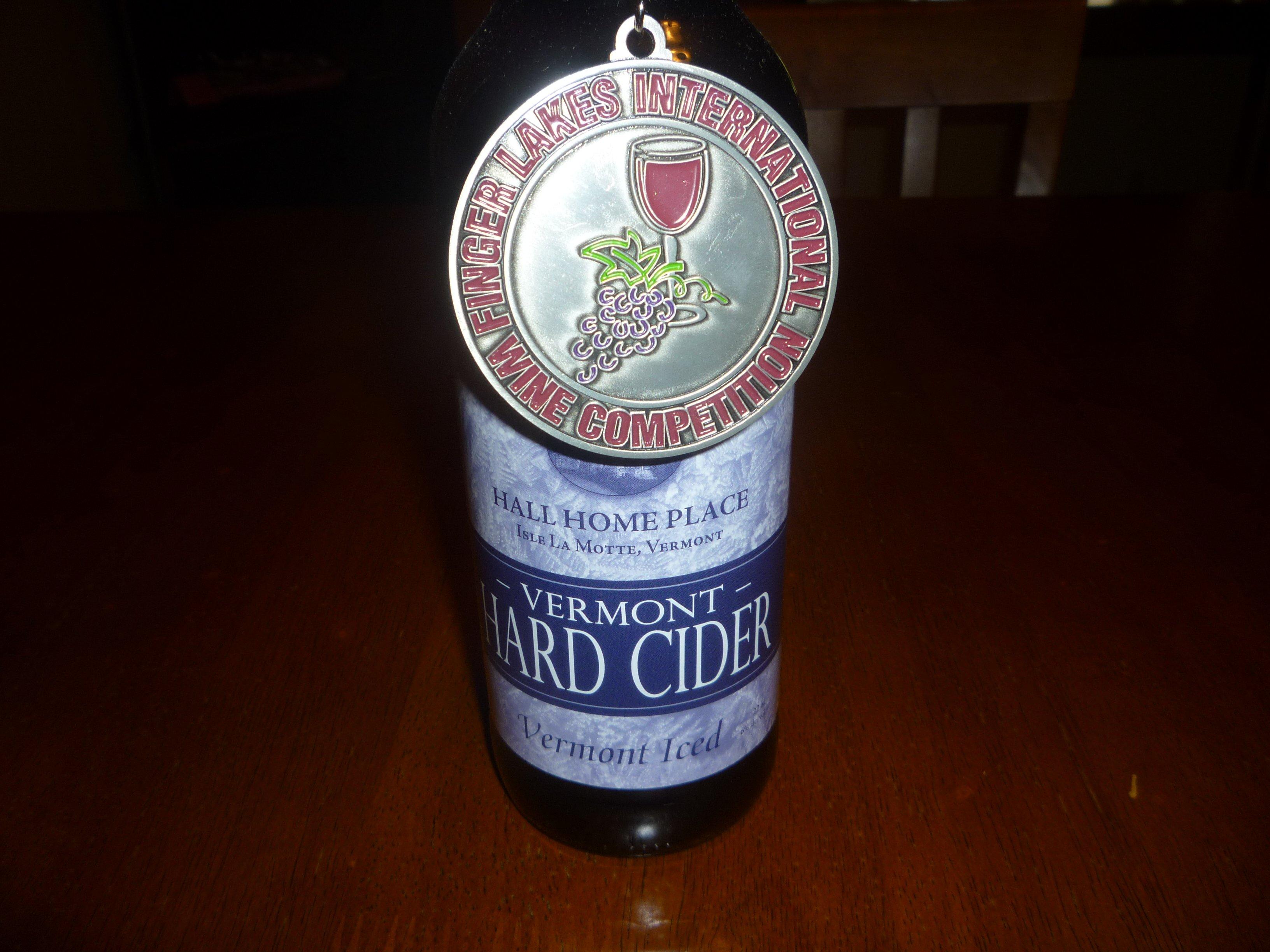 Medal on cider