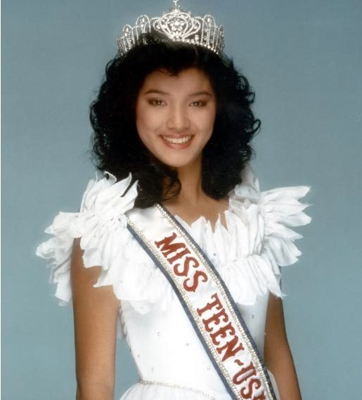 1985 Kelly Hu (Miss Teen USA)