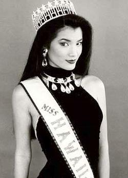 1993 Kelly Hu (Top 6 at Miss USA)