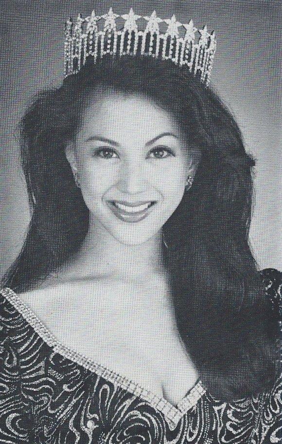 1994 Nadine Tanega Top 12 at Miss USA)