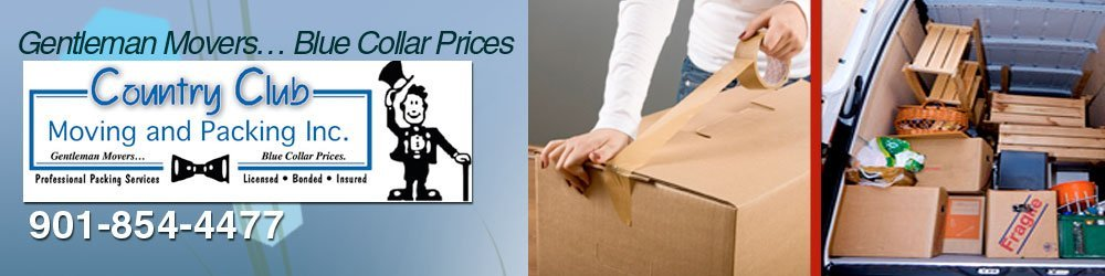 Moving Company - Collierville, TN - Country Club Moving and Packing Inc.