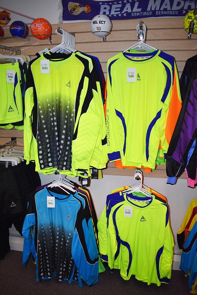 Soccer apparels