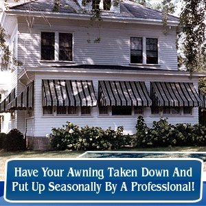 Awnings and Canopies - Hudson, NY - Sausbier's Awning Shop Inc. - Have Your Awning Taken Down And Put Up Seasonally By A Professional!