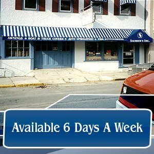 Awning Company - Hudson, NY - Sausbier's Awning Shop Inc. - Available 6 Days A Week