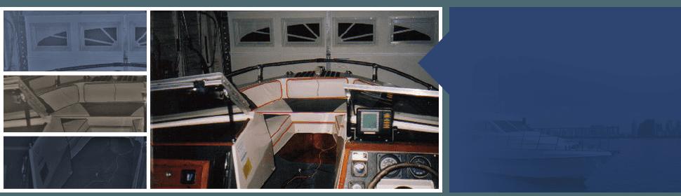 marine interior | Indian Trails, NC | Rob's Auto & Marine Interiors | 704-821-4318