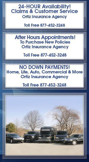 Commercial Auto Insurance - Ortiz Insurance Agency - Houston, TX
