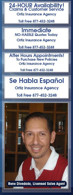 Auto Insurance - Ortiz Insurance Agency - Houston, TX
