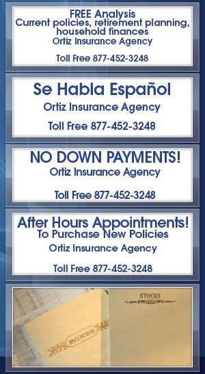 Bonds - Ortiz Insurance Agency - Houston, TX