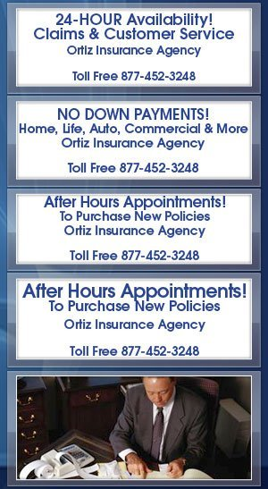 Commercial Insurance - Ortiz Insurance Agency - Houston, TX