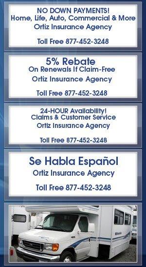 Recreational Vehicles - Ortiz Insurance Agency - Houston, TX