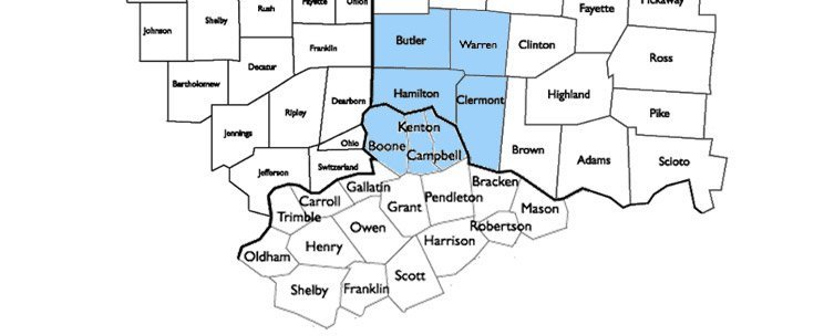 CleanBrite Carpet Cleaning, LLC service area map