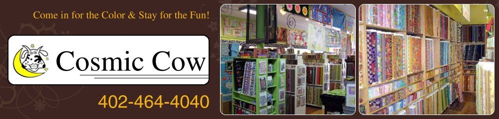 Quilting Supplies Lincoln, NE - Cosmic Cow