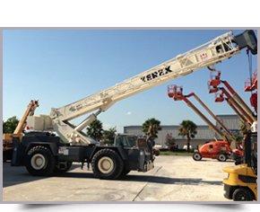 Cranes | LaPorte, TX - Clear Creek Equipment