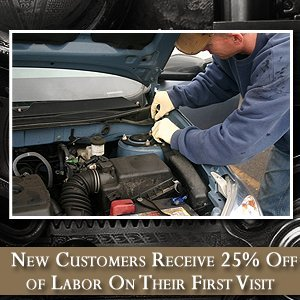 Auto Repair Business - Rosenberg, TX - Dybala's Auto Repair & Custom - Change Oil - New Customers Receive 25% Off of Labor On Their First Visit