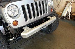 Jeep Winch Plate