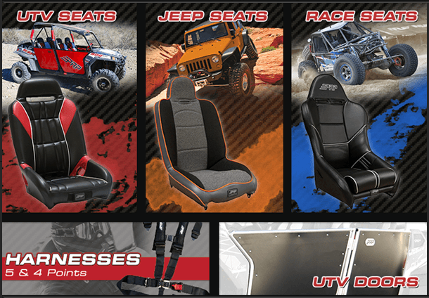 Off road seats, UTV seats | Tucson, AZ | Trail Boss Off-Road