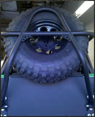 Tire carrier | Tucson, AZ | Trail Boss Off-Road