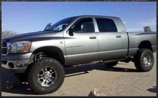 Dodge lift kit | Tucson, AZ | Trail Boss Off-Road