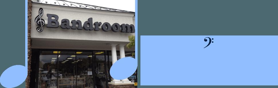 Musical instrument rental | Roanoke, VA | The Bandroom | 540-283-9855