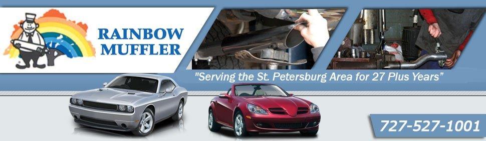 Auto Repair Shop Saint Petersburg Fl Rainbow Muffler