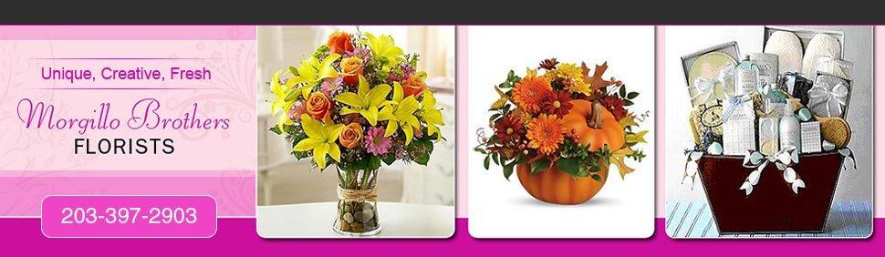 New Haven, CT   - Morgillo Brothers Florists - Unique Flower Arrangements